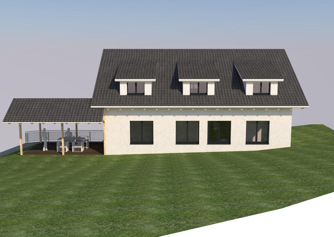 Wohnhaus Berghofstrasse 12 in 8535 Herdern