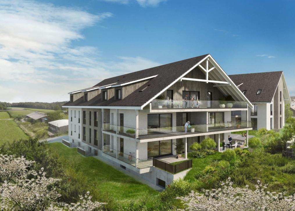 Mehrfamilienhäuser «Weitblick» Kirchweg 3+5 in 8532 Weiningen, Theml Immobilien