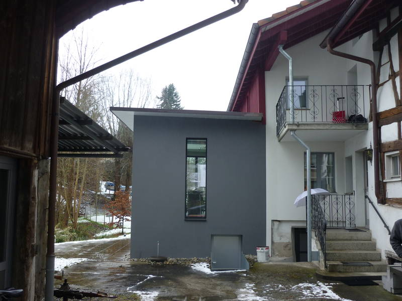 Umbau Küche und Wohnzimmer Wagenhausen