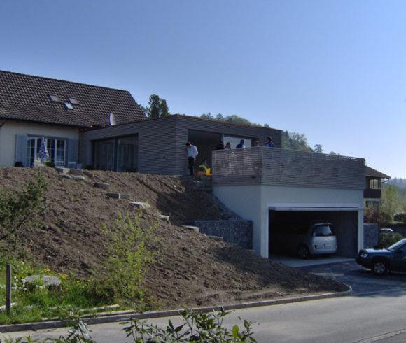 Umbau und Ausbau Einfamilienhaus in Wiesendangen
