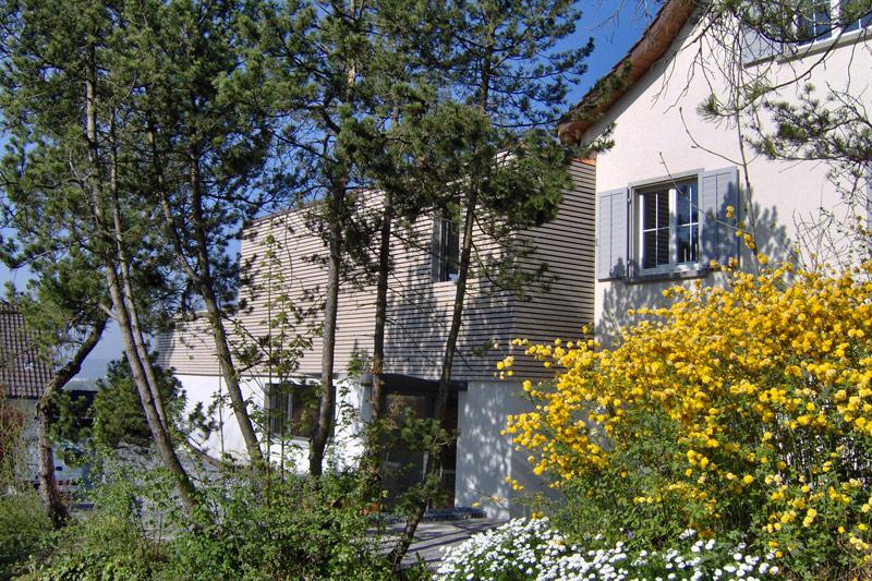 Anbau und Ausbau Einfamilienhaus in Wiesendangen