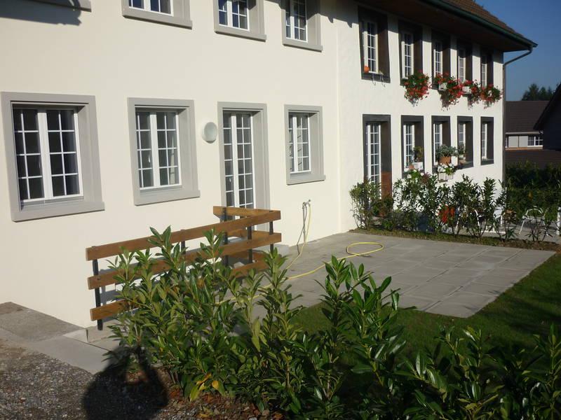 Einbau Wohnung in Scheunenteil Ellikon a. d. Thur