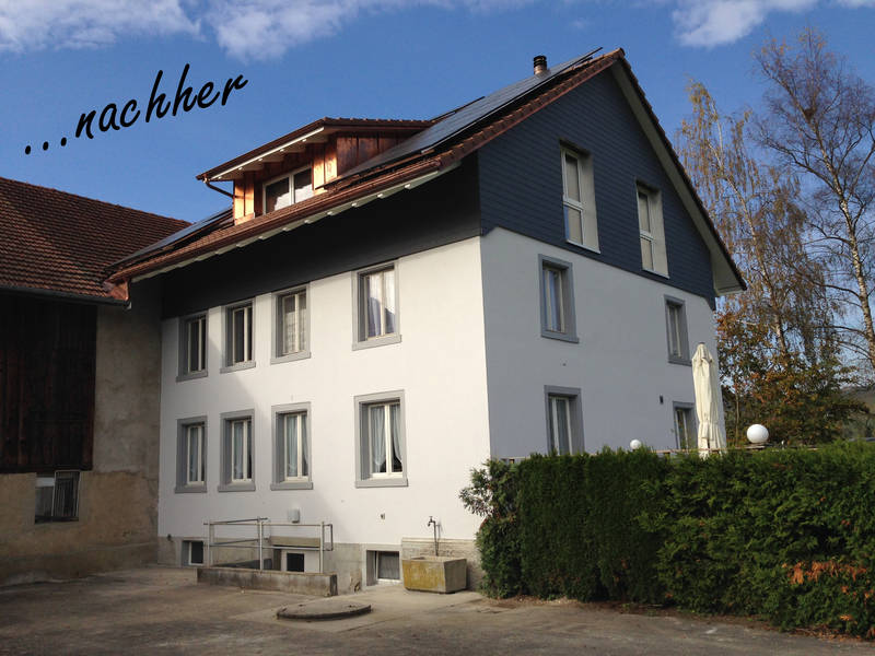 Sanierung Wohnhaus Uesslingen