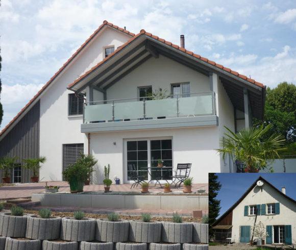 Umbau Sanierung Wohnhaus, Ellikon an der Thur