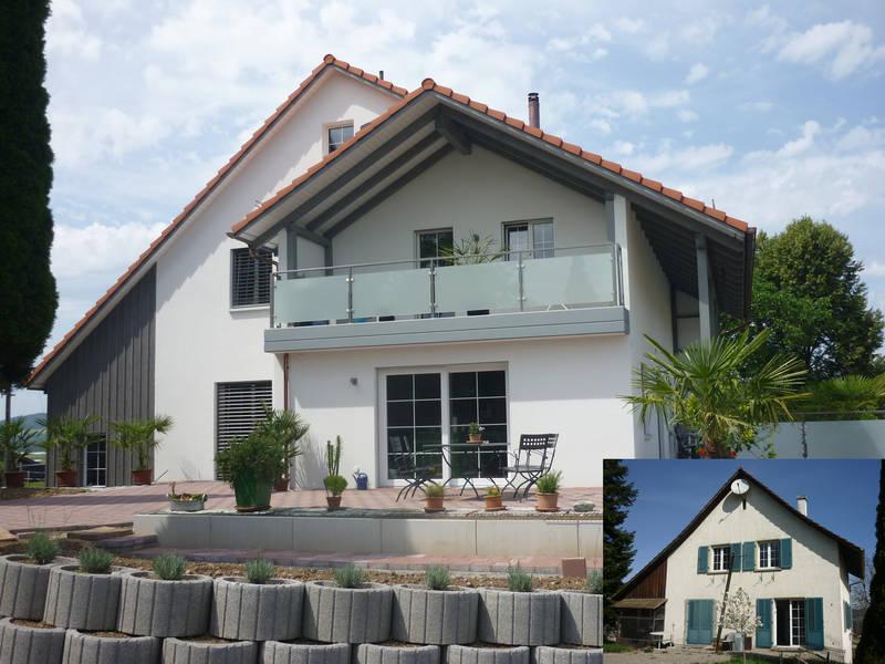 Umbau Sanierung Wohnhaus, Ellikon an der Thur 2