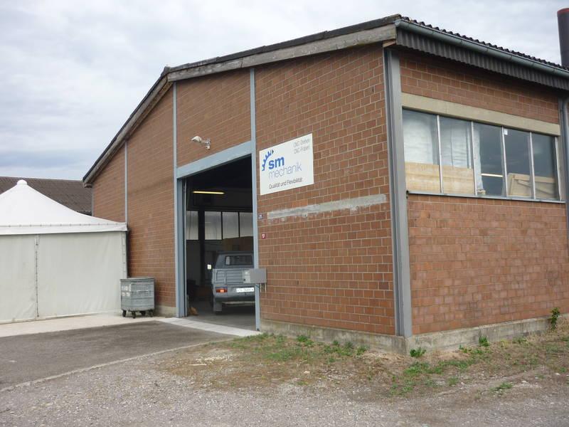Sanierung Werkhalle SM-Mechanik, Basadingen