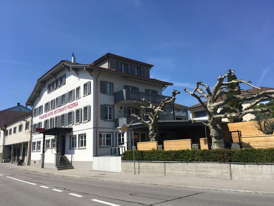 Umbau Restaurant Pizzeria Neueröffnung Barone (Linde) Aadorf Enver Jashari