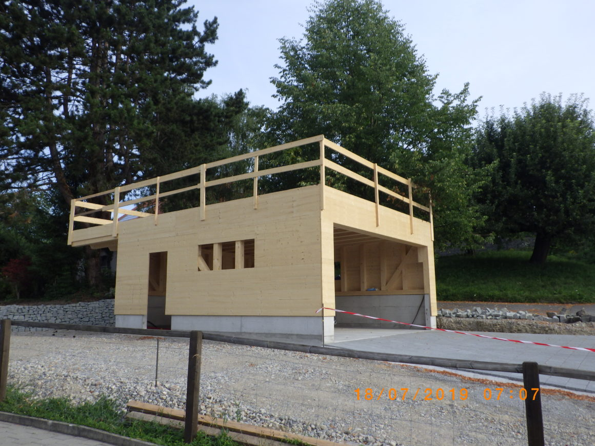 Neubau Garage Toppius Uesslingen